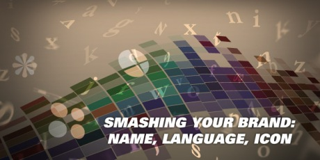 Smashing Your Brand Name Language Icon