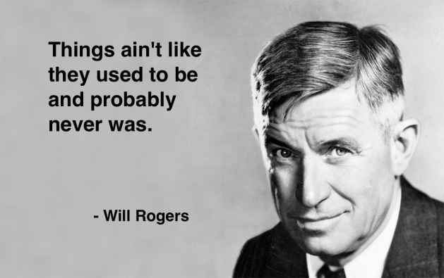 Will Rogers quote