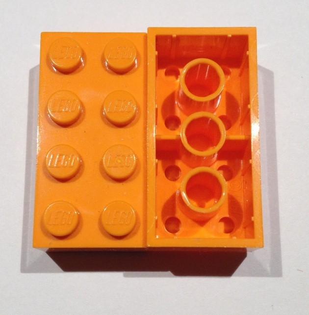 LEGO brick orange copy