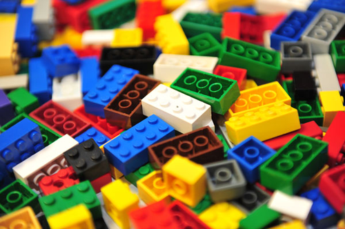 Lego Bricks - pile
