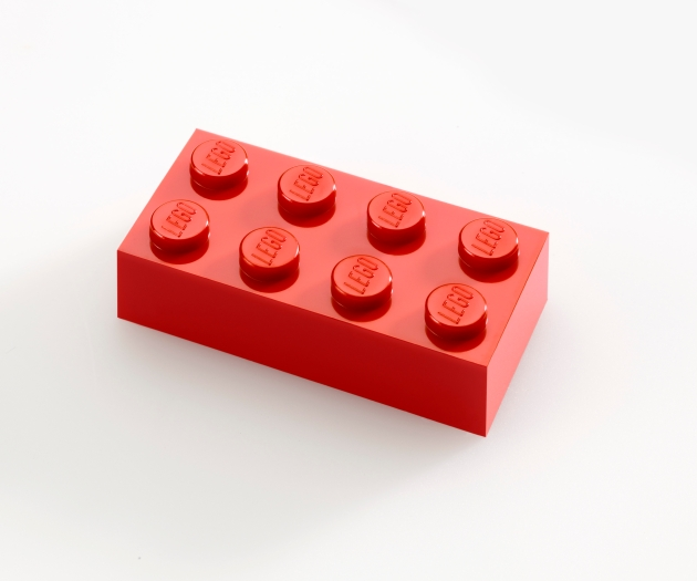 Lego red brick