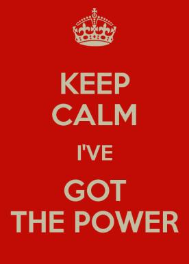 I'veGotthePower